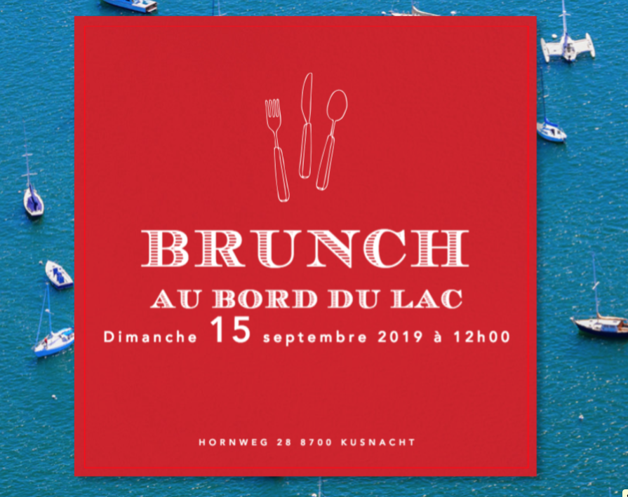 BRUNCH AU BORD DU LAC
